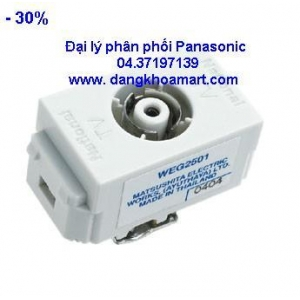 Ổ cắm anten Panasonic WEG 2501