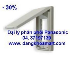 Mặt cho 3 thiết bị có nắp che mưa Panasonic WEG7903