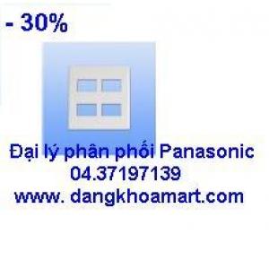 Mặt cho 4 thiết bị Panasonic WEG6804W