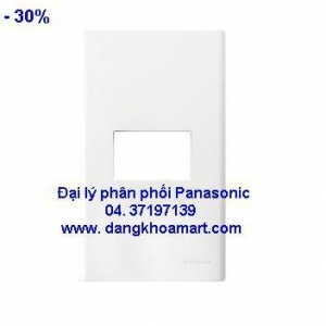 Mặt dùng cho 1 thiết bị Panasonic WEV 68010 W