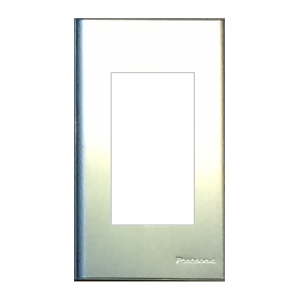 Mặt 3 thiết bị kim loại nhôm vân xước Panasonic WEG6503-1